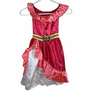 Elena Of Avalor Red Dress Costume 2016